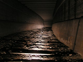 Stillgelegte Tunnel